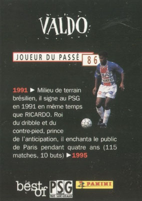 N° 086 - VALDO (Verso)