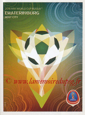 2018 - Panini FIFA World Cup Russia Stickers - N° 030 - Ekaterinburg