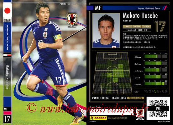 Panini Football League 2014 - PFL06 - N° 146 - Makoto HASEBE (Japon) (Star)