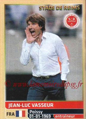 N° 388 - Jean-Luc VASSEUR (1986-92, PSG > 2014-15, Entraîneur Reims)
