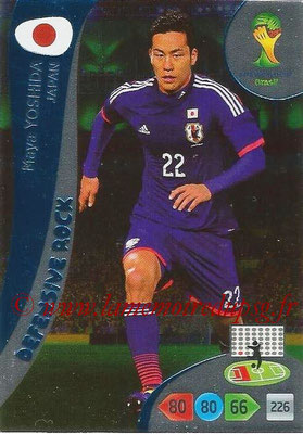 2014 - Panini FIFA World Cup Brazil Adrenalyn XL - N° 375 - Maya YOSHIDA (Japon) (Defensive Rock)