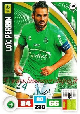 2016-17 - Panini Adrenalyn XL Ligue 1 - N° 328 - Loïc PERRIN (Saint-Etienne)