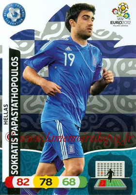 Panini Euro 2012 Cards Adrenalyn XL - N° 094 - Sokratis PAPASTATHOPOULOS (Grèce)