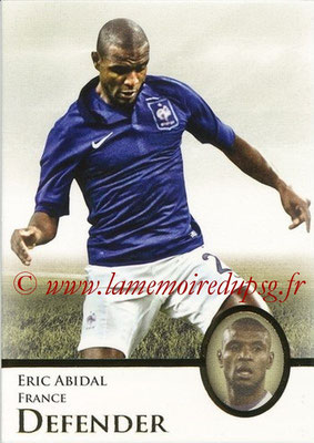 2013 - Futera World Football Unique - N° 008 - Eric ABIDAL (France) (Defender)