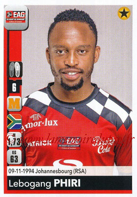 2018-19 - Panini Ligue 1 Stickers - N° 141 - Lebogang PHIRI (Guingamp)