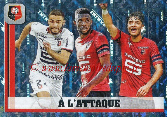 2018-19 - Panini Ligue 1 Stickers - N° 425 - A l'Attaque (Rennes)