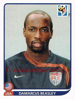 2010 - Panini FIFA World Cup South Africa Stickers - N° 217 - Damarcus BEASLEY (États Unis)