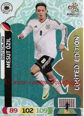 Panini Euro 2012 Cards Adrenalyn XL - N° LE11 - Mesut ÖZIL (Allemagne) (Limited Edition)