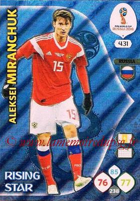 2018 - Panini FIFA World Cup Russia Adrenalyn XL - N° 431 - Aleksei MIRANCHUK (Russie) (Rising Star)