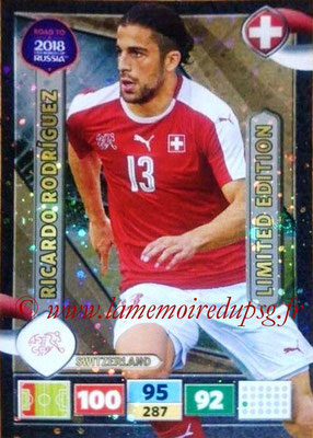 2018 - Panini Road to FIFA World Cup Russia Adrenalyn XL - N° LE-RR - Ricardo RODRIGUEZ (Suisse) (Limited Edition)