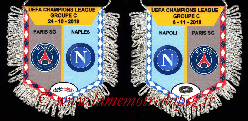 Fanion  PSG-Naples  2018-19