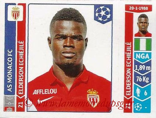 2014-15 - Panini Champions League N° 247 - Edelson ECHIEJILE (AS Monaco)