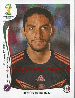 2014 - Panini FIFA World Cup Brazil Stickers - N° 072 - Jesus CORONA (Mexique)