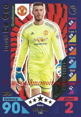 2016-17 - Topps Match Attax Premier League - N° 182