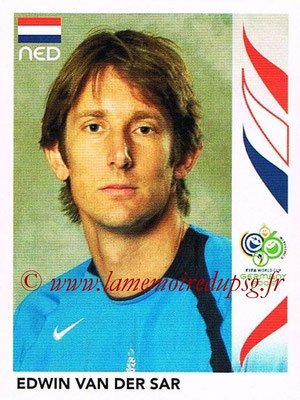 2006 - Panini FIFA World Cup Germany Stickers - N° 228 - Edwin VAN DER SAR (Pays Bas)