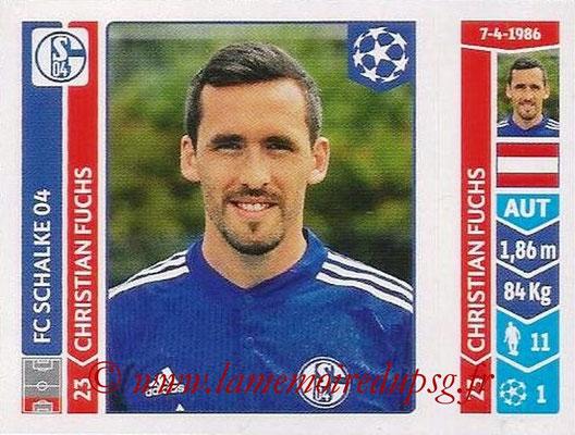 2014-15 - Panini Champions League N° 520 - Christian FUCHS (FC Schalke 04)