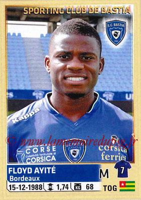 2014-15 - Panini Ligue 1 Stickers - N° 012 - Floyd AYITÉ (SC Bastia)