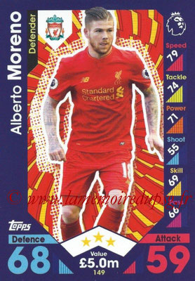 2016-17 - Topps Match Attax Premier League - N° 149