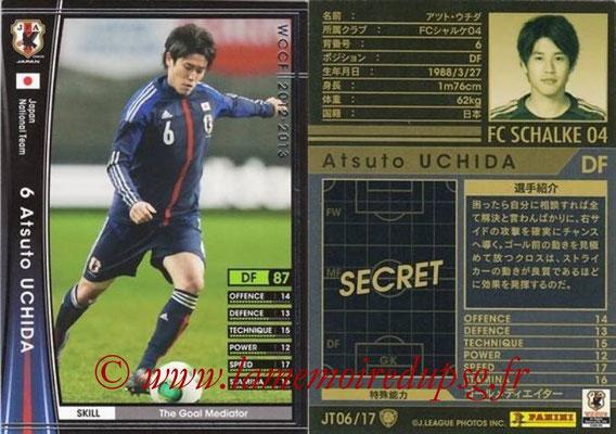 2012-13 - WCCF - N° JT06 - Atsuto UCHIDA (FC Schalke 04) (Japon)