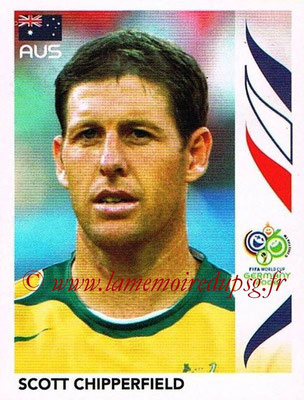 2006 - Panini FIFA World Cup Germany Stickers - N° 419 - Scott CHIPPERFIELD (Australie)