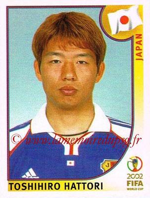 2002 - Panini FIFA World Cup Stickers - N° 538 - Toshihiro HATTORI (Japon)