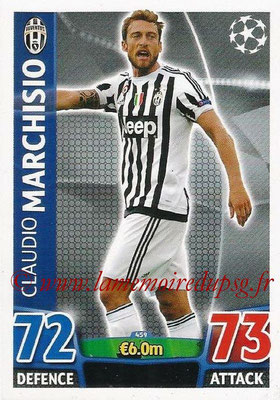 2015-16 - Topps UEFA Champions League Match Attax - N° 459 - Claudio MARCHISIO (Juventus FC)