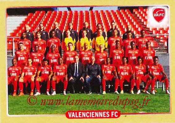 2015-16 - Panini Ligue 1 Stickers - N° 520 - Equipe Valenciennes FC