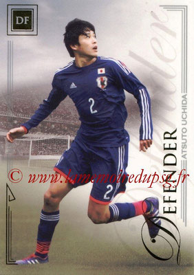 2014 - Futera World Football Unique - N° 029 - Atsuto UCHIDA (Defender)