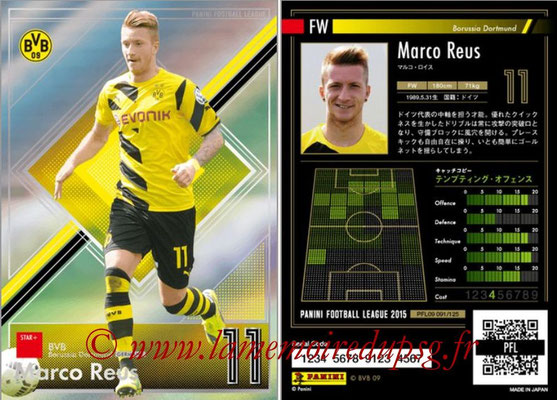 Panini Football League 2015 - PFL09 - N° 091 - Marco REUS (Borussia Dortmund) (Star +)