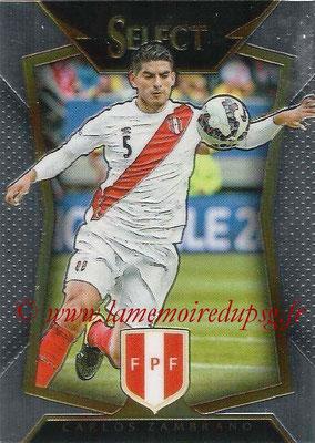 2015 - Panini Select Soccer - N° 012 - Carlos ZAMBRANO (Perou)