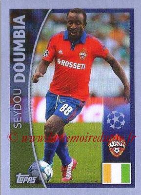2015-16 - Topps UEFA Champions League Stickers - N° 085 - Seydou DOUMBIA (CSKA Moscou)