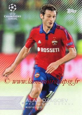 2015-16 - Topps UEFA Champions League Showcase Soccer - N° 044 - Alan DZAGOEV (CSKA Moscou)