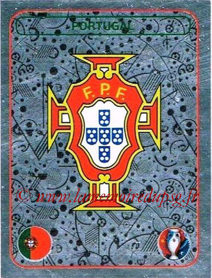Panini Euro 2016 Stickers - N° 570 - Logo Portugal