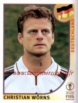 N° 319 - Christian WORNS (1998-99, PSG > 2002, Allemagne)