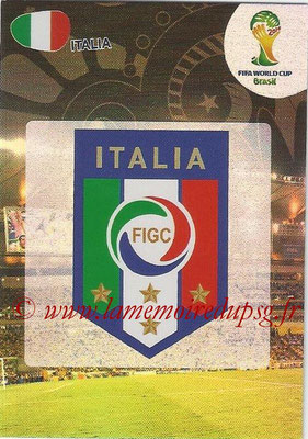 2014 - Panini FIFA World Cup Brazil Adrenalyn XL - N° 208 - Logo Italie