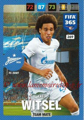 2016-17 - Panini Adrenalyn XL FIFA 365 - N° 269 - Axel WITSEL (FC Zenit)