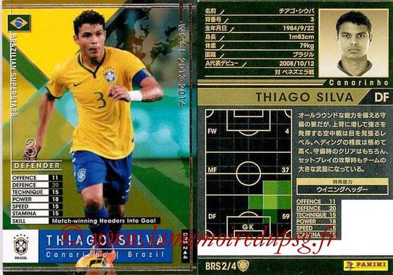 2013-14 - WCCF - N° BRS2 - Thiago SILVA (Bresil) (Brazilian Superstars)