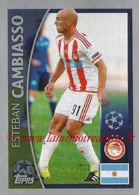 2015-16 - Topps UEFA Champions League Stickers - N° 373 - Esteban CAMBIASSO (Olympiacos FC)