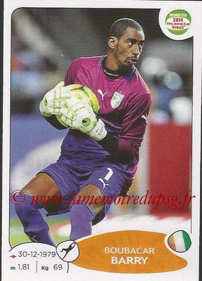 2014 - Panini Road to FIFA World Cup Brazil Stickers - N° 383 - Boubacar BARRY (Côte d'Ivoire)
