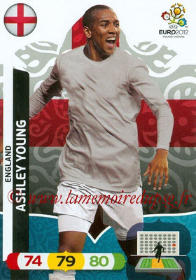 Panini Euro 2012 Cards Adrenalyn XL - N° 049 - Ashley YOUNG (Angleterre)