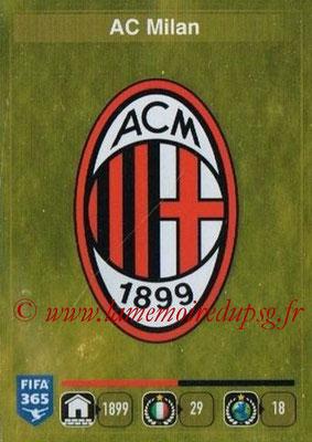 2015-16 - Panini FIFA 365 Stickers - N° 581 - Ecusson Milan AC