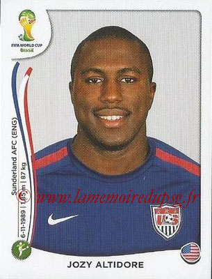 2014 - Panini FIFA World Cup Brazil Stickers - N° 563 - Jozy ALTIDORE (Etats-Unis)