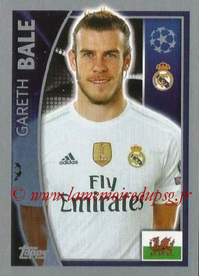 2015-16 - Topps UEFA Champions League Stickers - N° 042 - Gareth BALE (Real Madrid CF)