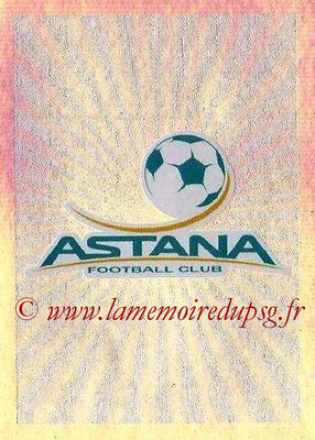2015-16 - Topps UEFA Champions League Stickers - N° 206 - Logo FC Astana