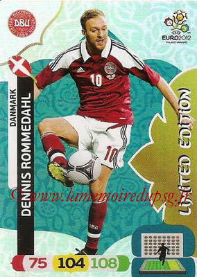 Panini Euro 2012 Cards Adrenalyn XL - N° LE07 - Dennis ROMMEDAHL (Danemark) (Limited Edition)
