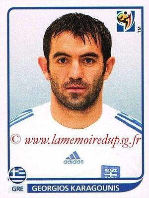 2010 - Panini FIFA World Cup South Africa Stickers - N° 176 - Georgios KARAGOUNIS (Grèce)
