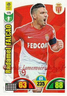 2018-19 - Panini Adrenalyn XL Ligue 1 - N° 173 - Radamel FALCAO (Monaco)