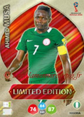 2018 - Panini FIFA World Cup Russia Adrenalyn XL - N° LE-AMU - Ahmed MUSA (Nigeria) (Limited Edition)