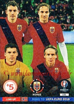 Panini Road to Euro 2016 Cards - N° 135 - Equipe Norvège 3