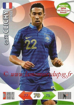 2014 - Panini Road to FIFA World Cup Brazil Adrenalyn XL - N° 089 - Gael CLICHY (France)